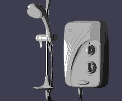 image of electric showers replaced