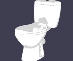 image of toilets serviced and replaced